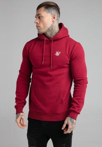 BASIC OVERHEAD HOODIE UNISEX - Sweatshirt - red