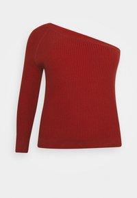 Glamorous Curve - ONE SHOULDER - Long sleeved top - cinnamon - 7