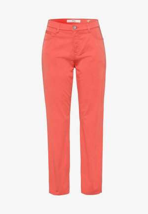 STYLE CARO S - Trousers - coral
