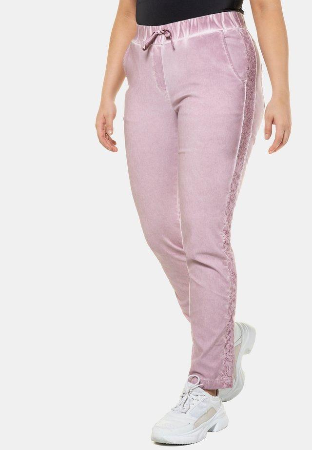 Trousers - pastellrosa