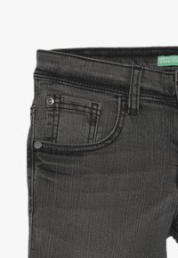Benetton - TROUSERS - Jeansy Slim Fit - dark grey - 3