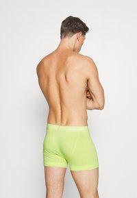Calvin Klein Underwear - TRUNK 3 PACK - Pants - maya blue/direct green/aqua luster - 1