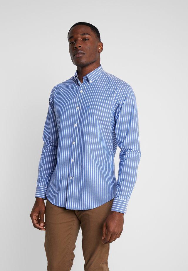 POPLIN STRIPE SHIRT - Shirt - true blue