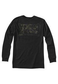Vans - MN 66 SUPPLY LS - Print T-shirt - black - 4