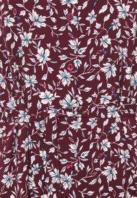 Anna Field - Košilové šaty - bordeaux/white - 2