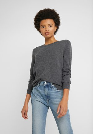 LAYLA CREW - Strickpullover - heather coal grey