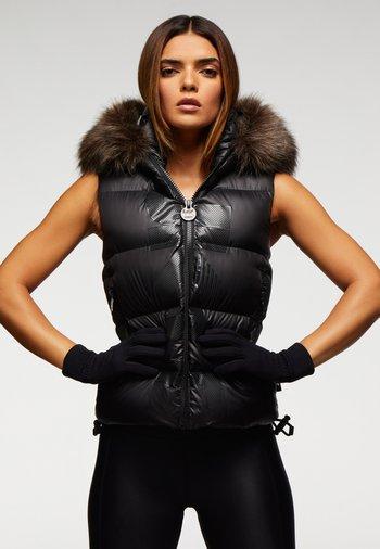 PRIME SLICK  - Waistcoat - black/black