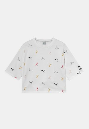 CLASSICS GRAPHICS BOYFRIEND TEE - Print T-shirt - white