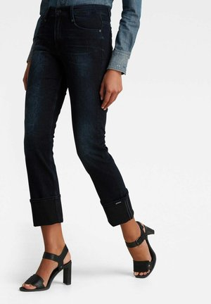 NOXER STRAIGHT - Straight leg jeans - dark blue