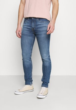 519™ EXT SKINNY HI-BALL B - Jeans Skinny Fit - goth semi pro adv