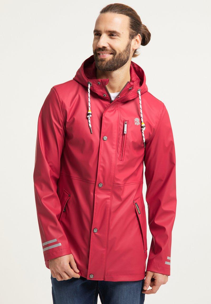 Schmuddelwedda - Waterproof jacket - rot