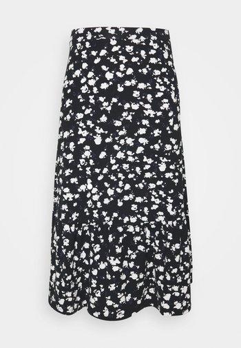 Áčková sukně - black/white