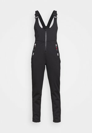 NU SLALOM SLIM ALL IN 1 - Snow pants - black