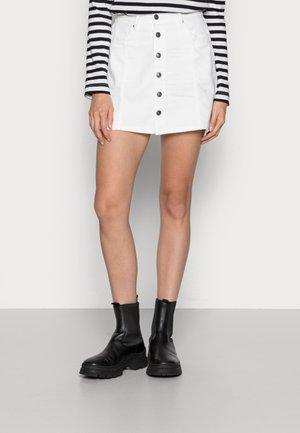 SKIRT - Mini skirt - true white