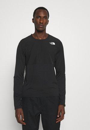 TRUE RUN - Maglietta a manica lunga - black
