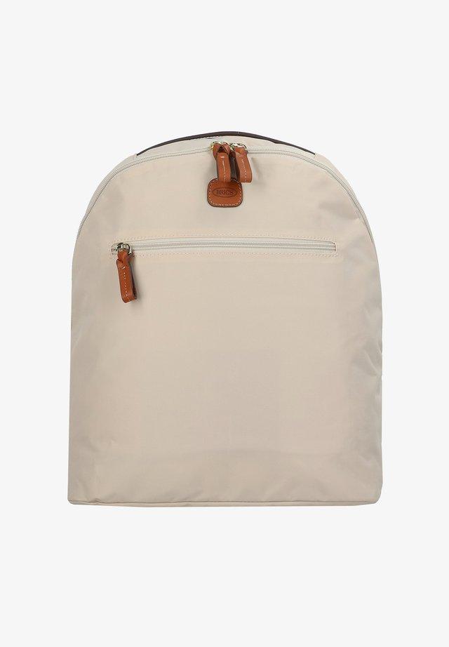 Rucksack - beige-leather