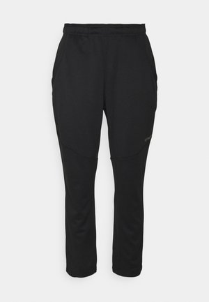 NALO TAPERED 7/8 PANTS - Tracksuit bottoms - black