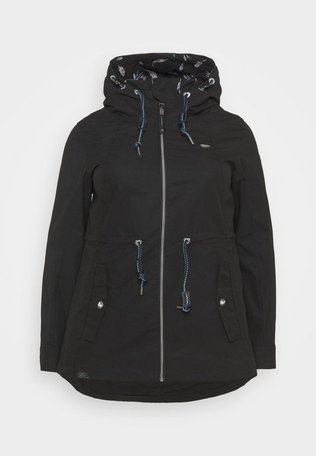 MONADIS - Parka - black