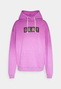 FRENZY GRADIENT HOODIE UNISEX  - Sweatshirt - purple