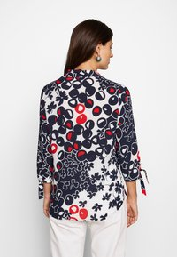 Barbara Lebek - Button-down blouse - navy/red/offwhite - 2