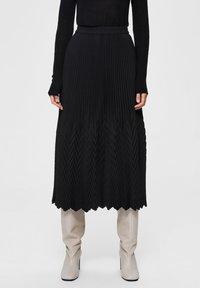 Selected Femme - A-line skirt - black - 0