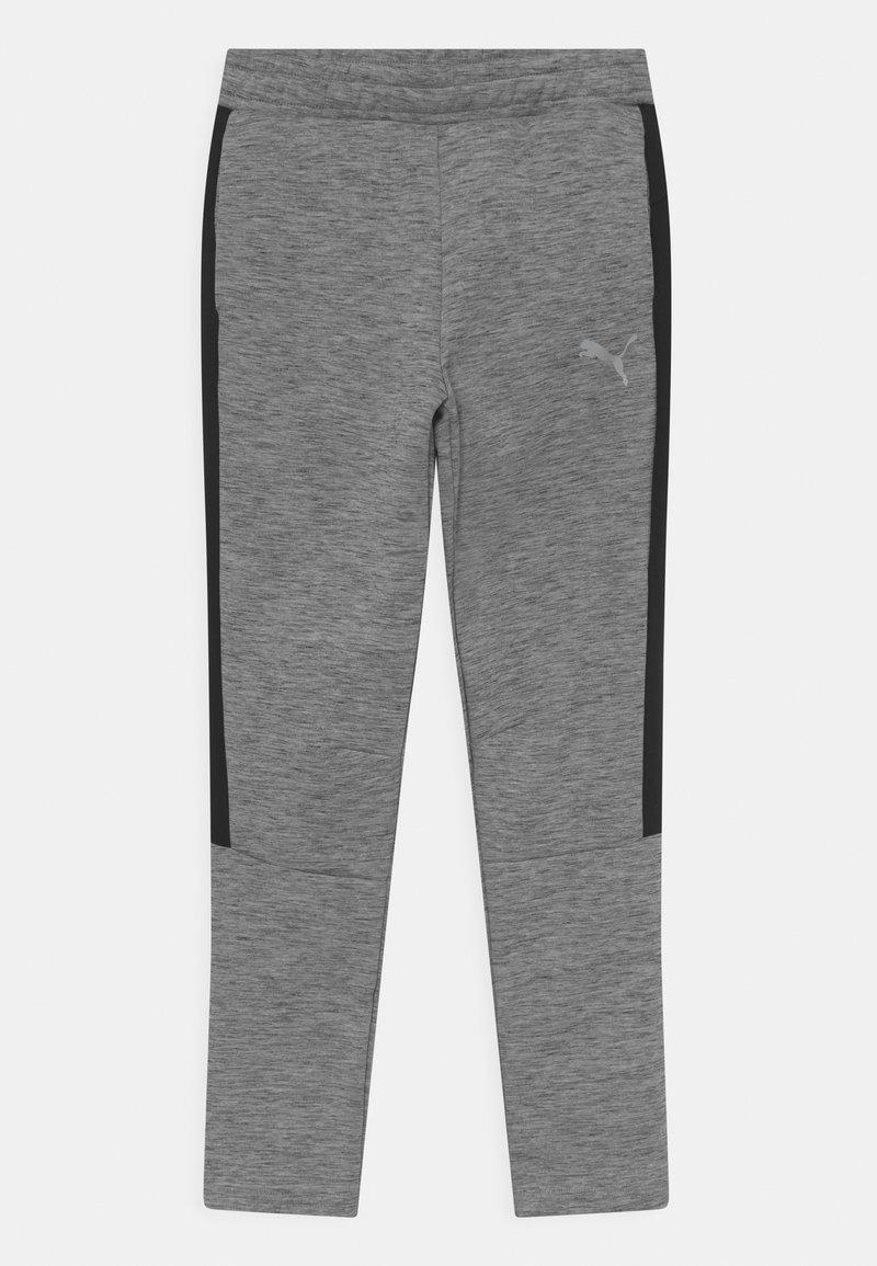 Puma - EVOSTRIPE PANTS UNISEX - Tracksuit bottoms - medium gray heather