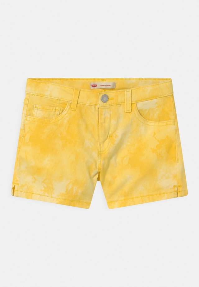 TIE DYE SHORTY  - Shorts di jeans - golden haze
