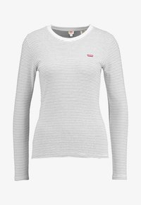 Levi's® - LS BABY TEE - Topper langermet - agnes/cloud dancer - 4