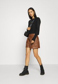 ONLY - ONLCHELLE - Shorts - tortoise shell - 1