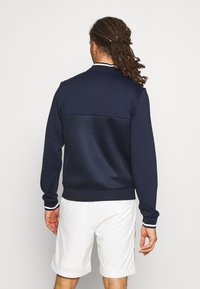 Lacoste Sport - TENNIS JACKET  - Träningsjacka - navy blue/white - 2