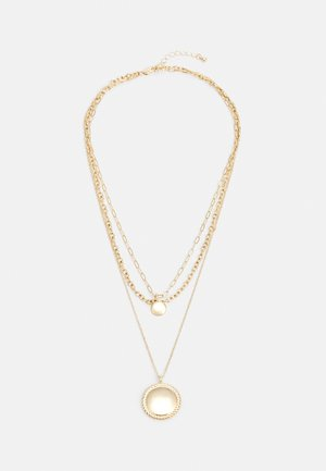 PCSANGTHIA COMBI NECKLACE  - Necklace - gold-coloured