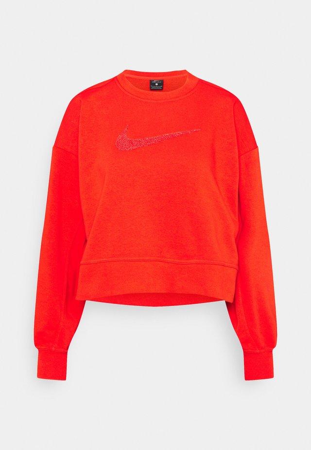 DRY GET FIT CREW - Sweatshirt - chile red/crimson bliss