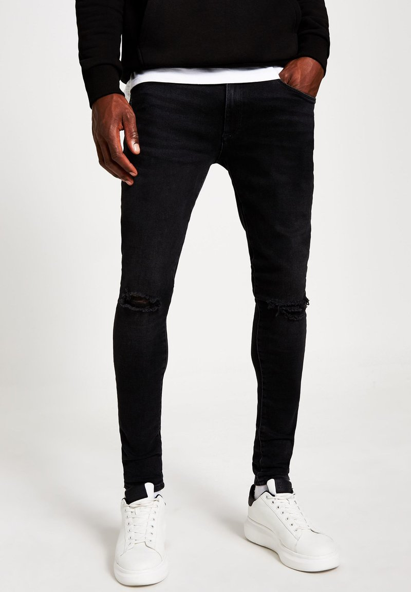 River Island - Jeans Skinny Fit - black