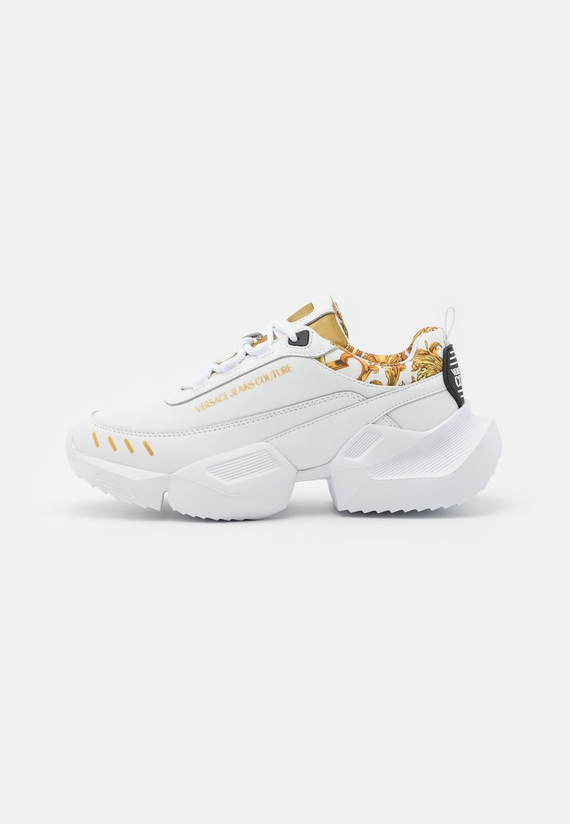 Versace Jeans Couture - Sneakersy niskie - white/gold