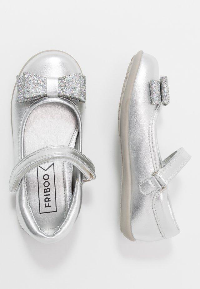 Ballerinasko m/ rem - silver