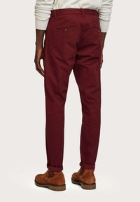 Scotch & Soda - MOTT CLASSIC SLIM FIT - Chino - bordeaux - 2