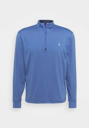 LONG SLEEVE - Pitkähihainen paita - bastille blue