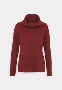 HEAVY - Long sleeved top - garnet red