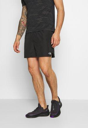 MENS AMBITION SHORT - Sportovní kraťasy - black