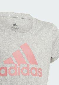 adidas Performance - G BL T - Print T-shirt - grey - 4