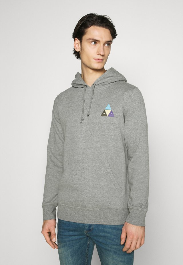 PRISM TRAIL HOODIE - Mikina s kapucí - grey heather