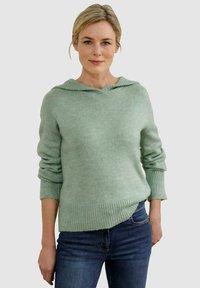 Dress In - Hoodie - salbeigrün - 0