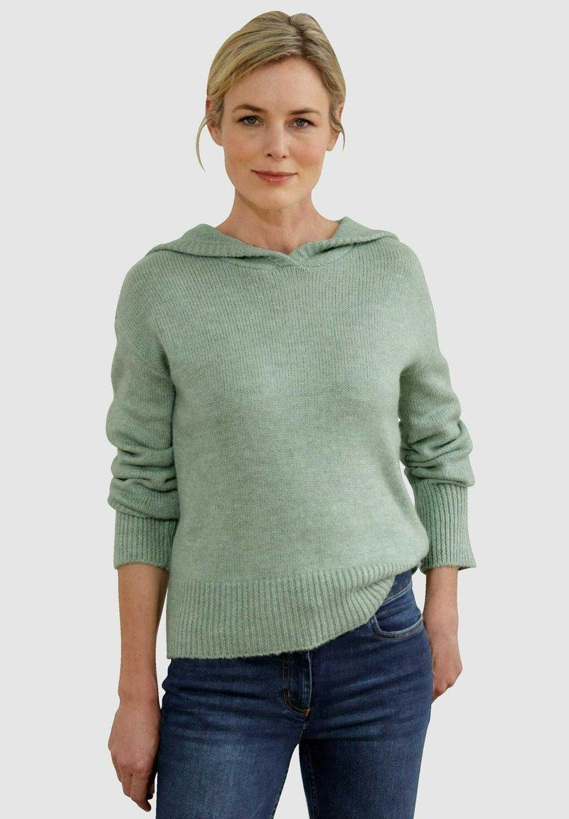 Dress In - Hoodie - salbeigrün