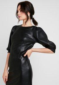 Monki - CHERIE DRESS - Freizeitkleid - black - 4