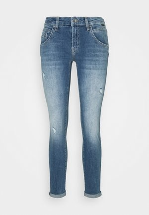 LEXY - Jeans Skinny Fit - mid ripped 90s