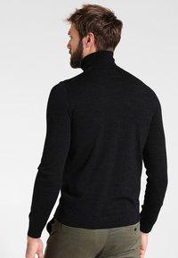 Farah - GOSFORTH ROLL NECK EXTRA  - Stickad tröja - dark asphalt marl - 2