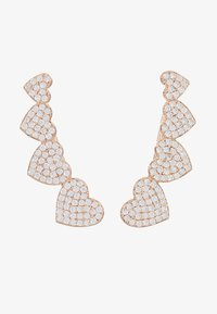 kate spade new york - EAR PINS - Earrings - clear/rose gold-coloured - 3