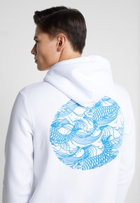 Pier One - Hoodie - white - 0