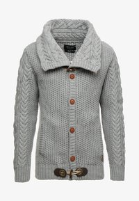 INDICODE JEANS - STONE - Jumper - light grey mix - 4