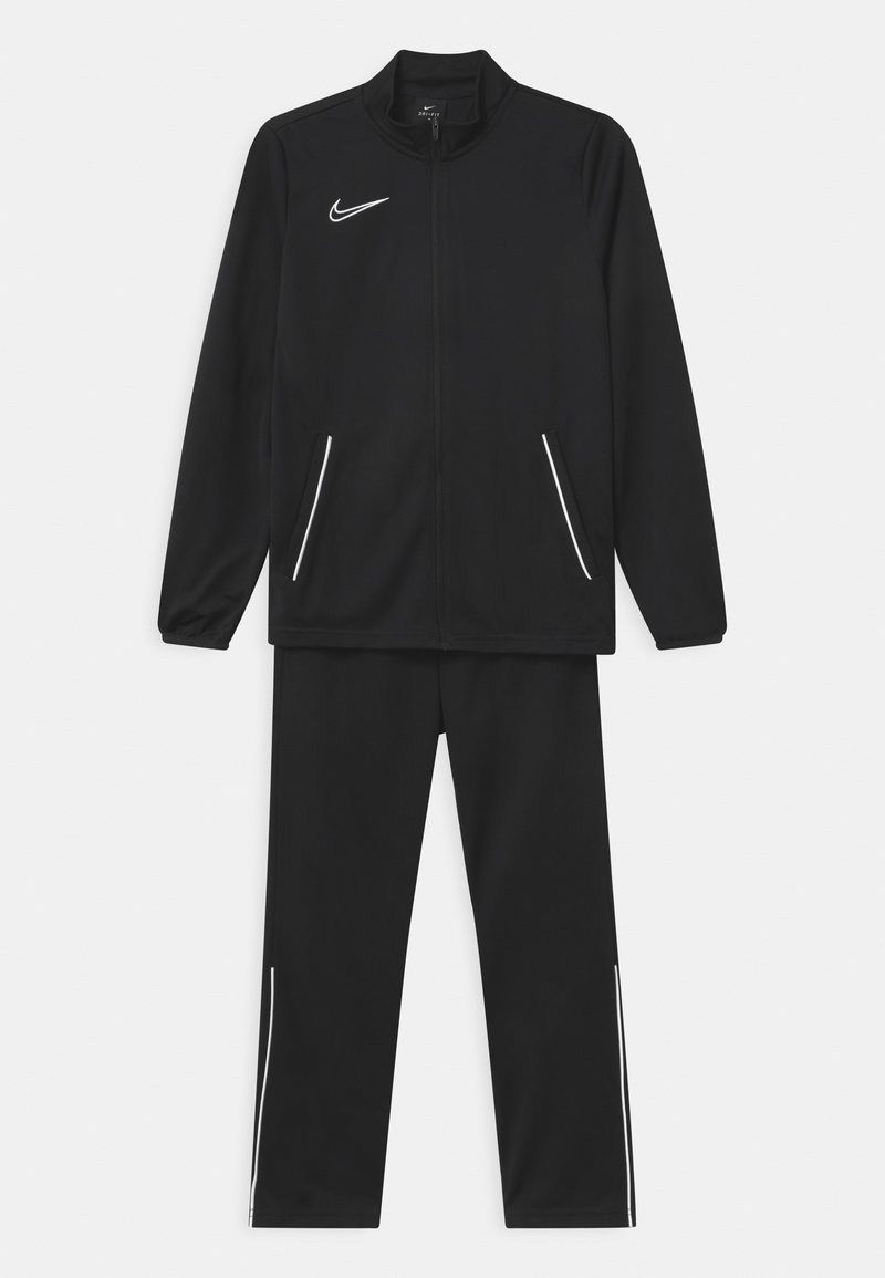 Nike Performance - SET UNISEX - Tuta - black/white